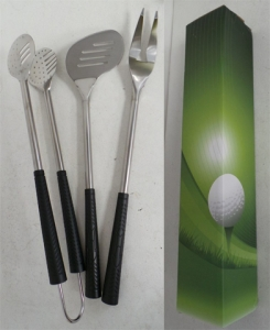 Wholesale Joblot of 10 Avon 3 Piece Stainless Steel Golf BBQ Tool Set