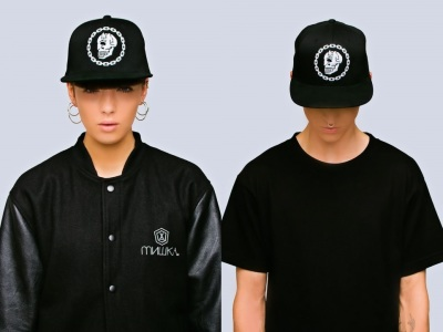 Wholesale Joblot 70x Snap Back Caps. Designer brand Mishka NYC x Long Clothing collaboration