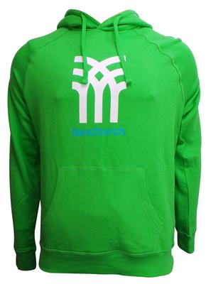 Wholesale Joblot of 10 Fenchurch Mens Icon Logo Hoodies Green Sizes XS-XL
