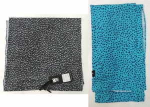 One Off Joblot of 16 Fenchurch Kyla Speckled Print Womens Scarfs 2 Colours