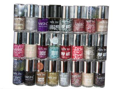 48 x Nails Inc Nail Polish | 19 Shades