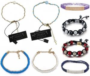 Wholesale Joblot of 20 Shimla Assorted Womens Bracelets - Good Range Available