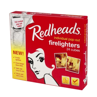Redhead Firelighters