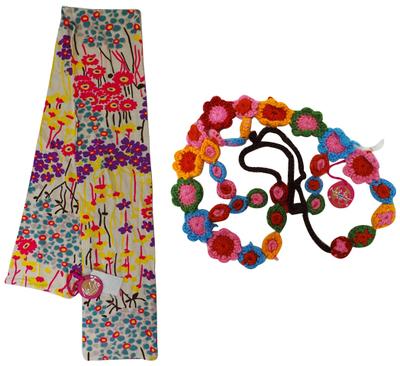 One Off Joblot of 4 Nolita Pocket Womens/Teenagers Floral Scarfs & Belts
