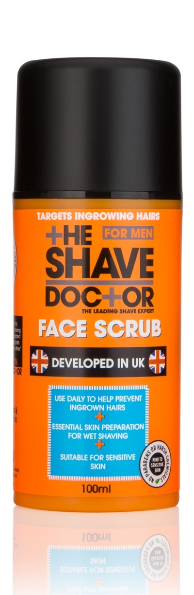 The Shavedoctor Face Scrub 100ml