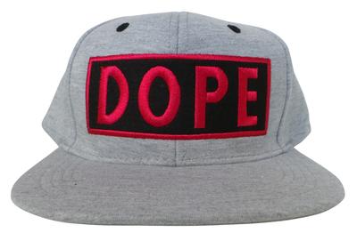 Wholesale Joblot of 20 Grey Dope Snapback Caps Unisex