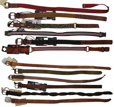 Wholesale Joblot of 10 Scotch Shrunk Assorted Boys Belts