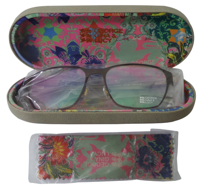 Wholesale Joblot of 5 George Gina & Lucy Roxsee Optical Glasses Matte Brown