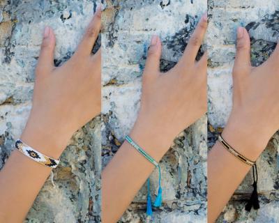 Tassel Summer Bracelets - Summer Accessories Joblot 22