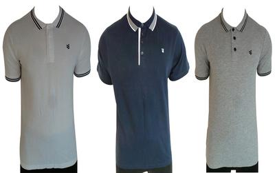 Wholesale Joblot of 13 Gio-Goi Mens Polo Shirts Mixed Colours & Sizes