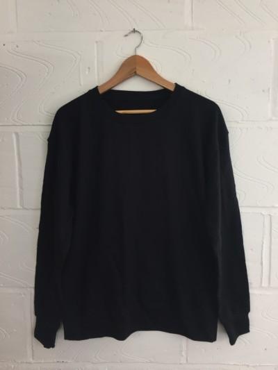 Pack of 200x blank black sweatshirts MEDIUM *UNISEX