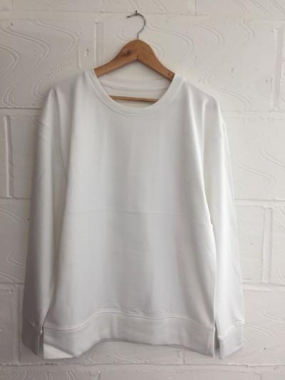 Pack of 10x blank white sweatshirts MEDIUM *UNISEX