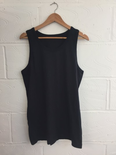 Wholesale Joblot 50x BLACK UNISEX Vests ONESIZE