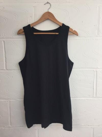 Wholesale Joblot 200x BLACK UNISEX Vests ONESIZE