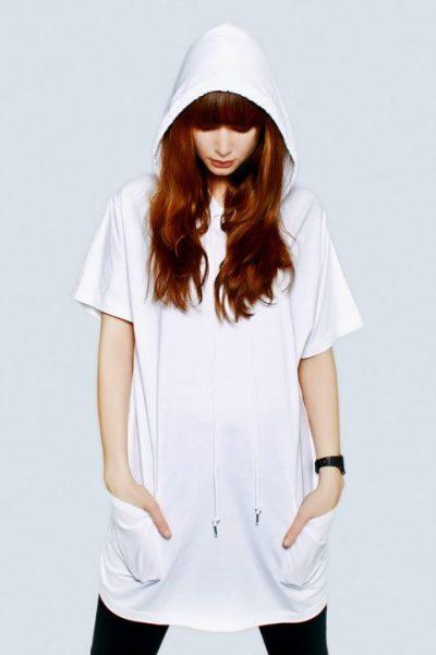 Wholesale Joblot 50x White UNISEX Hooded T SHIRTS Mixed Sizes