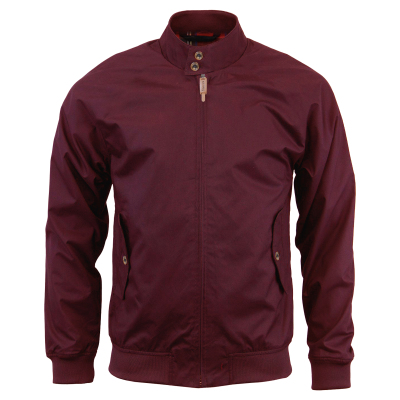 Mens Harrington Jacket Wine