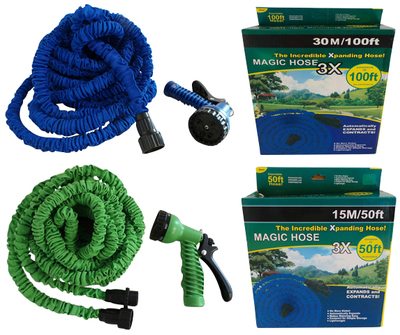 Wholesale Joblot of 13 Magic Hose & Spray Gun Expanding 7.5m Blue