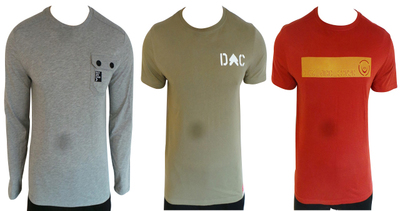 Wholesale Joblot of 8 Duck and Cover Mens T-Shirts Mixed Styles & Sizes