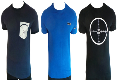 One Off Joblot of 7 Foray Mens T-Shirts Mixed Styles Size 2XL