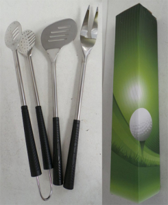 Wholesale Joblot of 50 Avon 3 Piece Stainless Steel Golf BBQ Tool Set