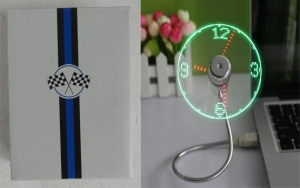Wholesale Joblot of 100 Avon USB Mini Flexible Clock Fan/LED Light