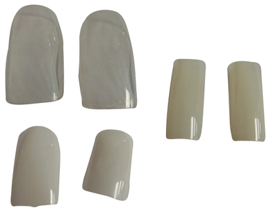 One Off Joblot of 67 Packs of 500 Nail Tips Various Styles & Sizes