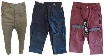 One Off Joblot of 6 Branded Chinos - Fly Guy, Sonneti and Franklin & Marshall