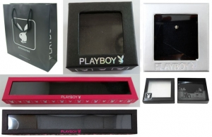 Pallet of 13,800 Mixed Playboy Jewellery Boxes/Bags