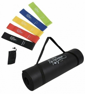 Wholesale Joblot of 20 Fitness by De Sousa Yoga Mat & Free Resistance Band