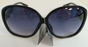 Wholesale Joblot Of 20 Oversized Black And Silver Sunglasses SG-201