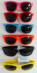 Wholesale Joblot of 20 Unisex Wayfarer Sunglasses Mixed Colours