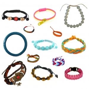 Wholesale Joblot Of 100 Mixed Fashion Costume Bracelets For Women & Girls