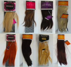 Wholesale Joblot of 10 Stranded Ladies Hair Extensions Human Hair