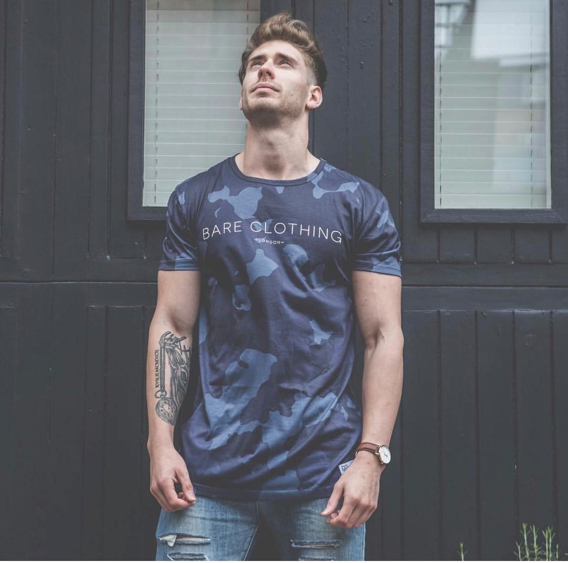 Men's Camo T shirt Sizes S-L