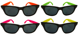 Wholesale Joblot of 20 Packs of 12 Dazzling Toys Wayfarer Style Adults Sunglasses