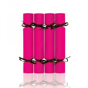 Wholesale Joblot of 200 MAD Beauty Empty Christmas Cracker Pink