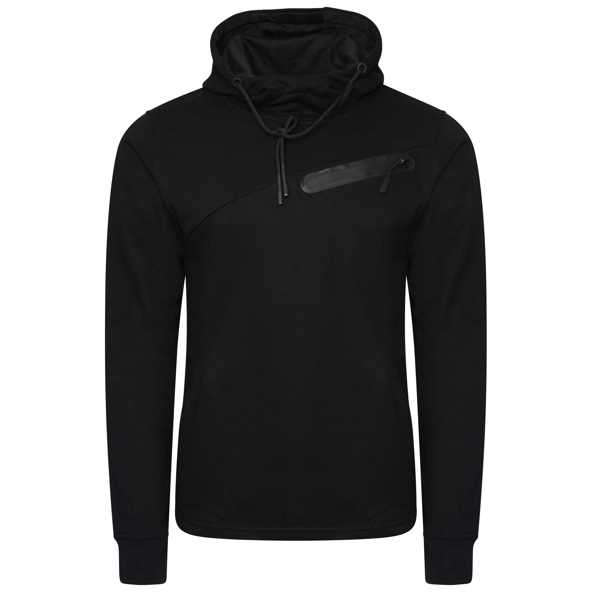 Wholesale Joblot Mens Plain Black Pullover Hoody 40 Items Per Box