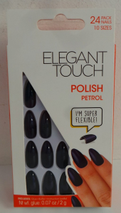 One Off Joblot of 50 Packs of 24 Elegant Touch Core Polish Petrol Nails 10 Sizes