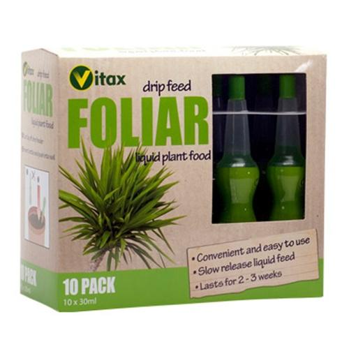 Wholesale Bulk Box 20 x 10 Vitax Drip Feed Plant Food Fertiliser Foliar Feed