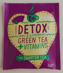 Wholesale Joblot of 450 T+ Detox Apple & Blackcurrant Vitamin Green Tea 2g