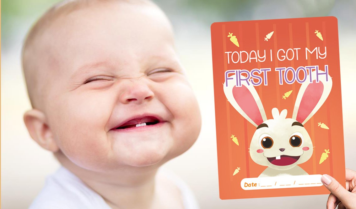 Brand New High Quality Design Baby milestone cards - 36 cards in a box, shrink wrapped - Nice gift idea for parents expecting a newborn - very cheap