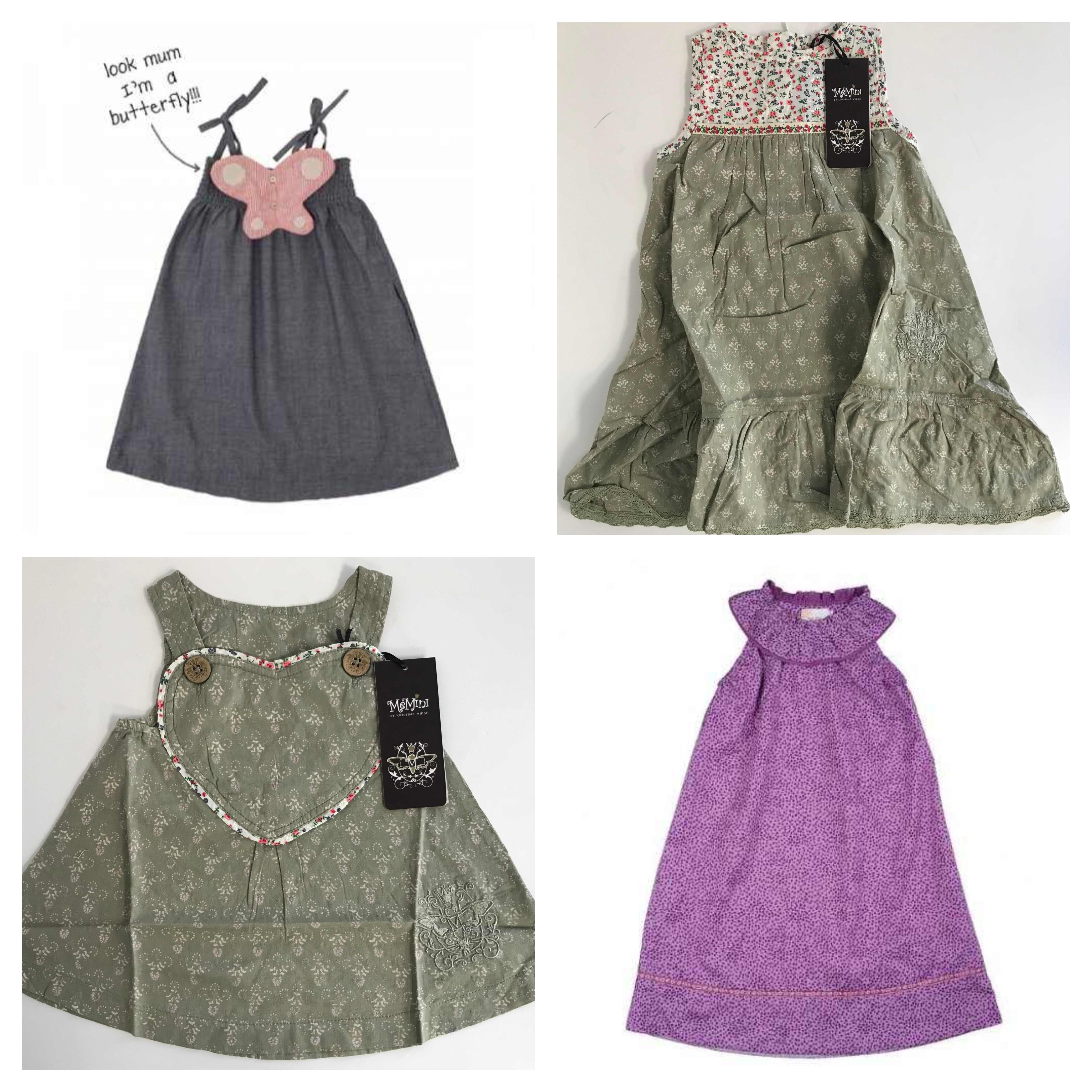 One Off Joblot Of 10 Girls Scandanavian Designer Dresses  Aya Naya, MeMini, Dundelina