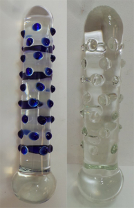 One Off Joblot of 5 Don Wands Large Glass Dildo Big Betty Blue & Fat Jack