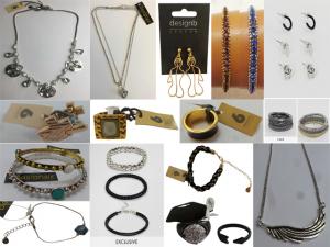 Wholesale Joblot of 500 DesignSix & DesignB Assorted Jewellery - Womens & Mens