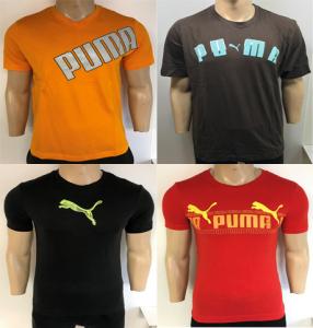 One Off Joblot of 8 Puma Mens Print T-Shirts 4 Styles Range of Sizes