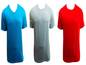 Wholesale Joblot of 10 Mens Nautica T-shirts Assorted Colours V-neck