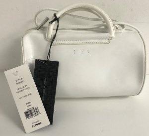 Wholesale Joblot of 10 French Connection Ladies Leather Kiko Side Bag White