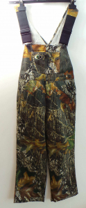 Wholesale Joblot of 5 Russell Outdoors Youth Break-Up Woodland Dungarees 0056