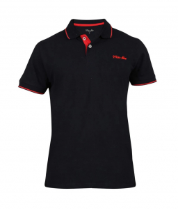 Wholesale Joblot of 10 Mar-Bee London Mens Tipped Polo Shirts Navy M & L