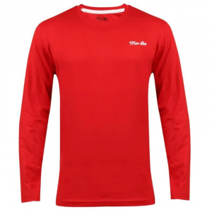 Wholesale Joblot of 10 Mar-Bee London Mens Long Sleeve T-Shirts Red Sizes S-XL
